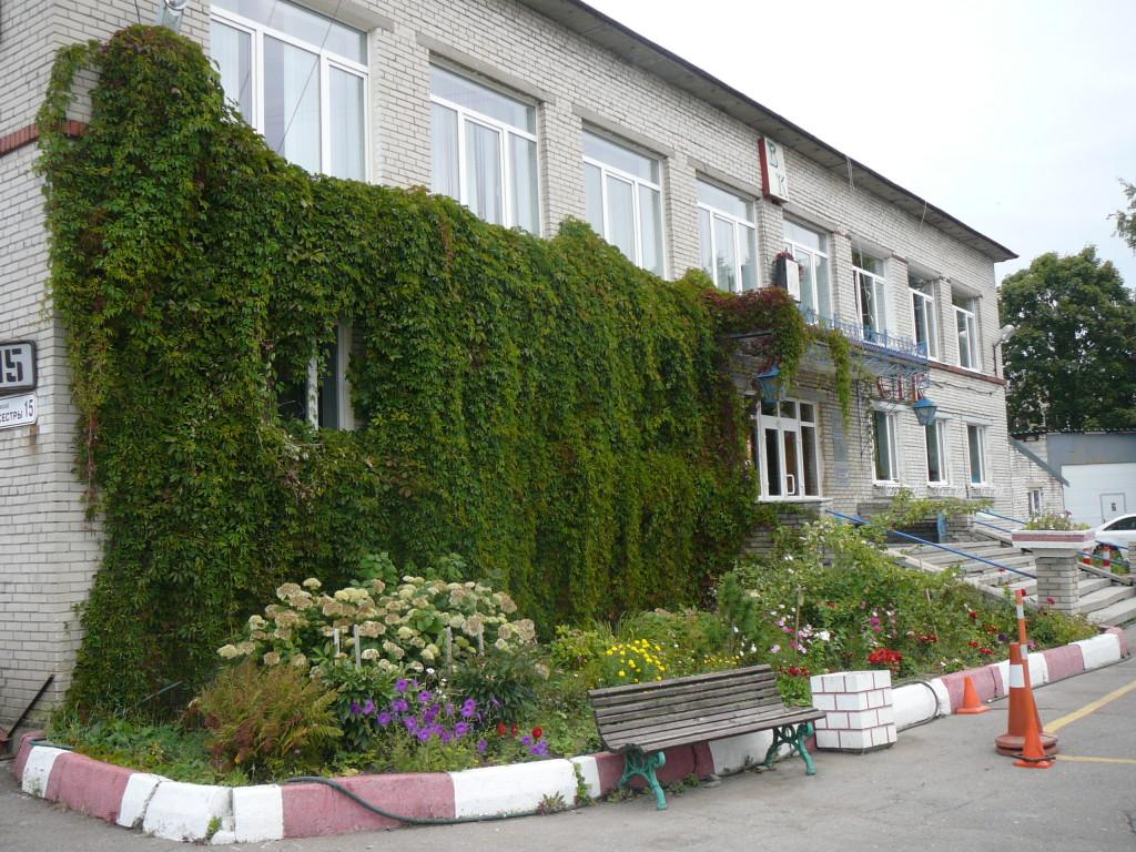 Фасад здания АШ